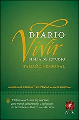 Biblia de Estudio del Diario Vivir NTV (Tapa Dura) [Biblia]