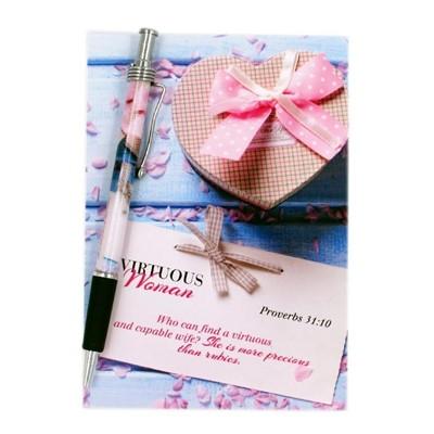 Libreta y Bolígrafo- Mujer [Misceláneos]
