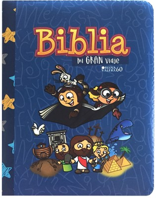 Biblia Mi Gran Viaje- Azul [Biblia]