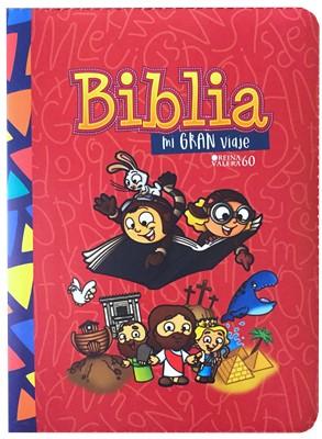 Biblia Mi Gran Viaje- Roja [Biblia]
