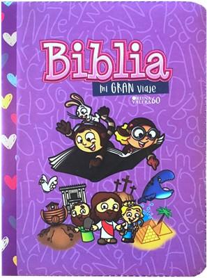 Biblia Mi Gran Viaje- Lila
