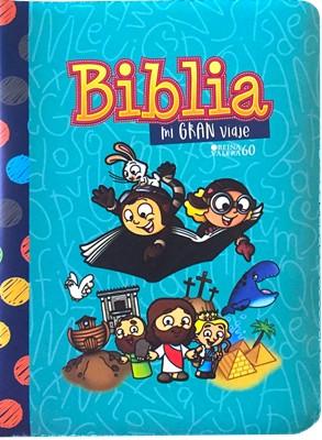 Biblia Mi Gran Viaje- Turquesa