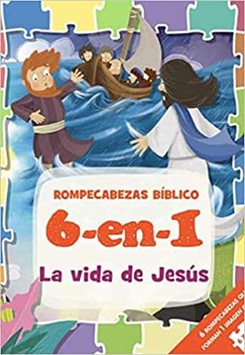 Rompecabezas Bíblico (6 en 1) (Tapa Dura) [Libro]