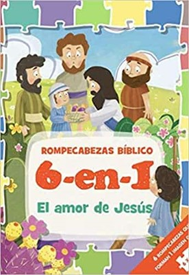 Rompecabezas Bíblico (6 en 1) (Rompecabezas) [Libro]