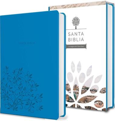 Biblia Tierra Santa RVR6060 Letra Grande Manual (Simil piel) [Biblia]