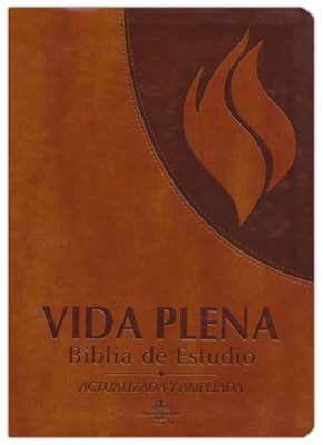 Vida Plena Biblia de Estudio Simil Piel (Simil Piel) [Biblia]