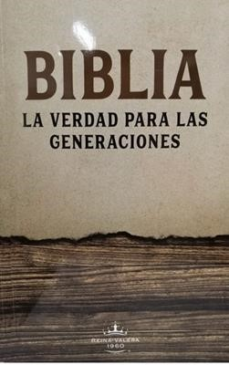 Biblia RVR60 La Verdad Letra Grande Comfort Print (Rústica) [Biblia]