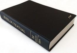 Biblia Textual IV Edición (Piel Vinilo) [Biblia]