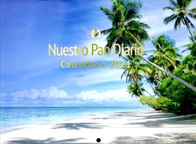 Calendario 2021 Nuestro Pan Diario (Rustica) [Calendario]