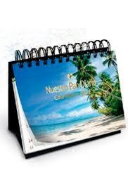 Calendario de escritorio 2021 Nuestro Pan Diario [Calendario]
