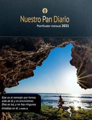 Planificador Mensual 2021 Nuestro Pan Diario (Rustica) [Calendario]