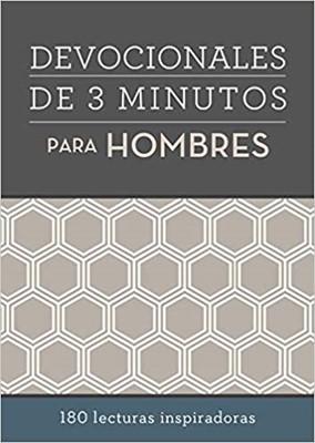 Devocionales de 3 Minutos para Hombres (Rustica) [Bolsilibro]