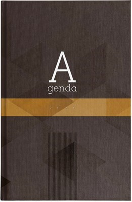 Agenda 2021 Hombre Marrón (Tapa Dura) [Agenda]