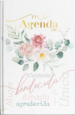 Agenda 2021 Mujer Flor Dorada (Tapa Dura) [Agenda]