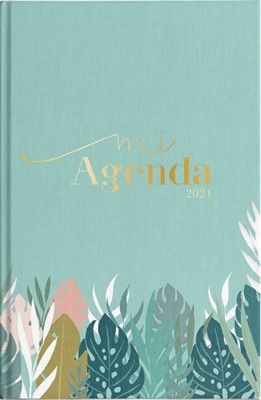 Agenda 2021 Mujer Flor Jardín