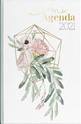 Agenda 2021 Mujer Flor Orquídea (Tapa Dura) [Agenda]