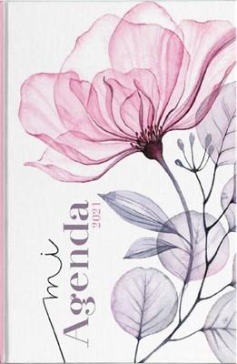 Agenda 2021 Mujer Flor Rosa (Tapa Dura) [Agenda]