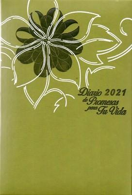 Diario De Promesas Para Tu Vida 2021 (Acolchadas) [Agenda]