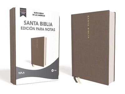 Santa Biblia Edición para Notas NBLA (Tapa Dura) [Biblia]