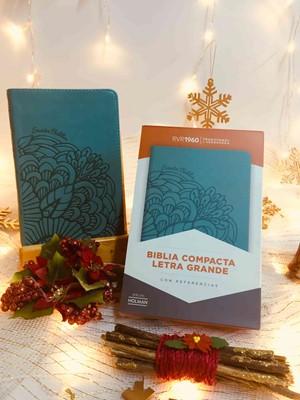 Biblias RVR Revisada Ultrafina Compacta Tapa Dura Tela Gris/Café (Tapa Dura) [Biblia]