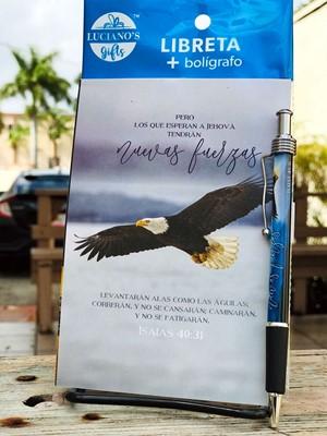 Libreta Pack + Boligrafo Aguila Lucianos [Regalos]