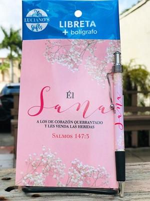 Libreta Pack + Boligrafo El Sana Lucianos [Regalos]