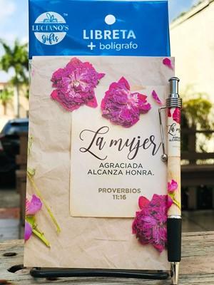 Libreta Pack + Boligrafo La Mujer agraciada Lucianos [Regalos]