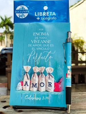 Libreta Pack + Boligrafo Amor Lucianos [Regalos]