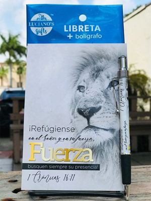 Libreta Pack + Bolígrafo Fuerza Lucianos [Regalos]