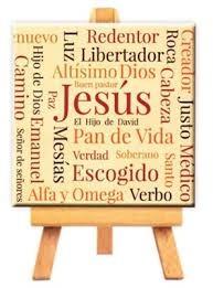 Mini cuadro lienzo Jesús