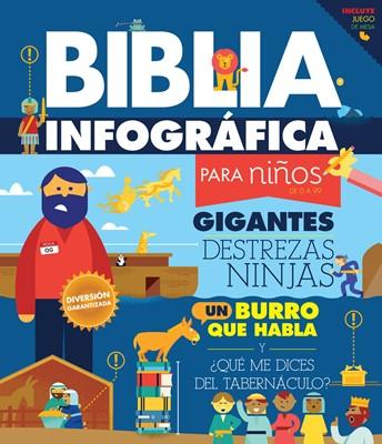 Biblia Infografica (Tapa dura) [Biblias para Niñ@s]