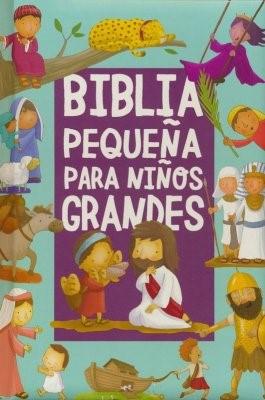 Biblia Pequeña Para Niños Grandes (Tapa dura)