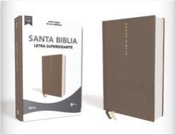 Nbla Santa Biblia, Letra Supergigante (tapa tipo piel) [Biblia]