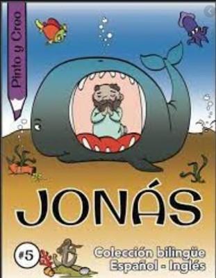 Jonás, pinto y creo (Bilingüe) (rustica blanda) [Libro de Niños]