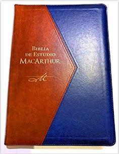 Biblia de Estudio MacArthur RVR 1960 (tapa tipo piel) [Biblia]