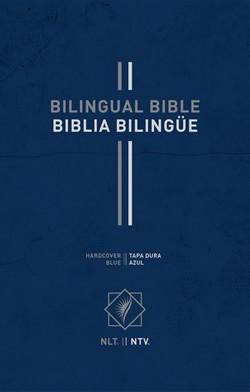 Bilingual Bible / Biblia bilingüe NLT/NTV (Tapa dura) [Biblia Bilingue]