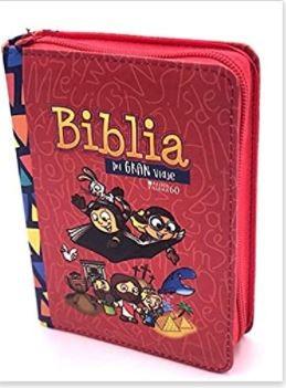 Biblia Para Niños Mi Gran Viaje Reina Valera 1960 (Tipo Cierre) [Biblias para Niñ@s]