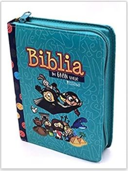 Biblia Mi Gran Viaje Reina Valera 1960 (Tipo Cierre) [Biblia]