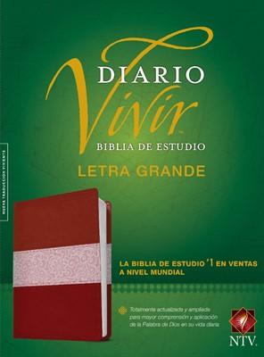 Biblia de estudio del diario vivir NTV, letra grande (Imitación Piel) [Biblia]