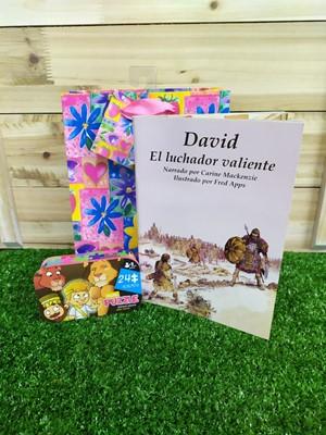 Personajes Bíblicos Sendas Antiguas (1 librito) + Rompecabezas caja Metálica + Funda de regalo Pequeña