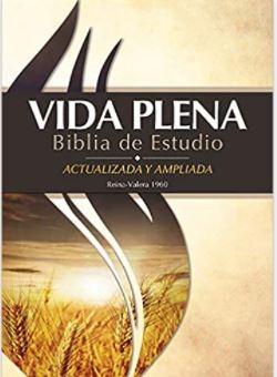 Biblia de Estudio Vida Plena RVR1960 (Rustica) [Libro]