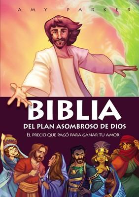 Biblia del Plan Asombroso de Dios (Tapa Dura) [Libro]