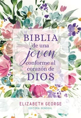 Una Joven Conforme al Corazón de Dios RVR60 (Tapa Dura) [Biblia Devocional]