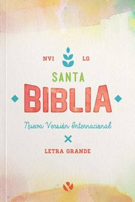 NVI Letra Grande Acuarela (Rústica) [Biblia]