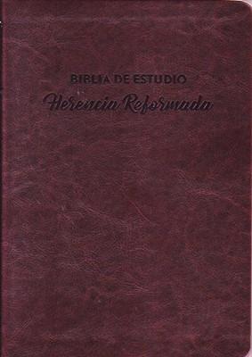 RVR60 Herencia Reformada para la Familia y el Estudio Devocional (Símil Piel) [Biblia de Estudio]