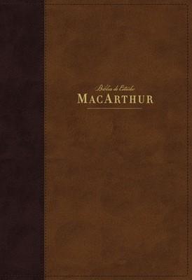 NBLA MacArthur con Índice (Imitación Piel) [Biblia de Estudio]