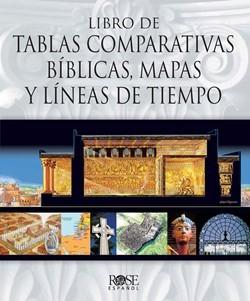 Libro de Tablas Comparativas Bíblicas, Mapas y Líneas de Tiempo (Tapa Dura) [Libro]