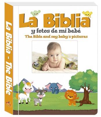 La Biblia y Fotos de mi Bebé (Tapa Dura) [Libro]