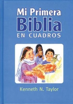 Mi Primera Biblia en Cuadros, Azul