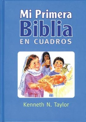 Mi Primera Biblia en Cuadros, Azul (Tapa Dura) [Biblia]